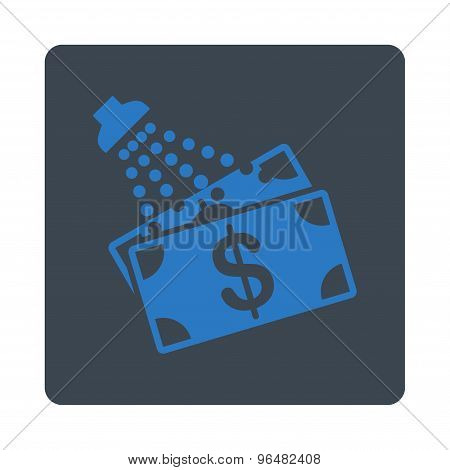 Money Laundry Icon from Commerce Buttons OverColor Set