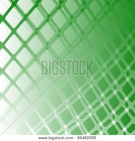 Grid green background