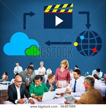 Media Computing Multimedia Content Sharing Concept