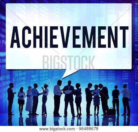 Achievement Goal Target Success Accomplishment Concept