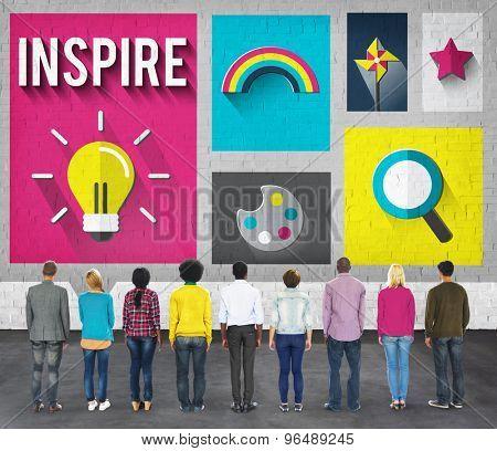 Inspire Inspiration Creative Vision Hopeful Concept