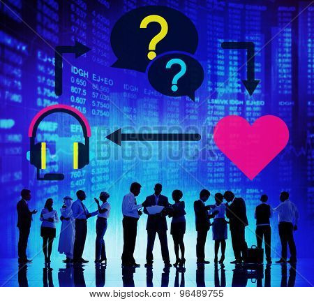 Music Lover Heart Interest Hobbies Concept