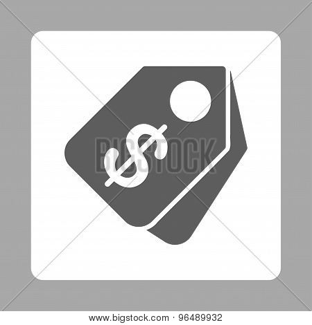 Price Tags Icon from Commerce Buttons OverColor Set