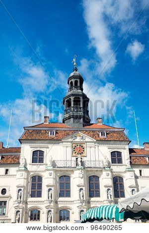 The Town Hall Of Lüneburg, Germany