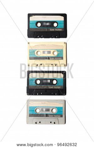 Old Cassette Tapes From East Germany In The 80S