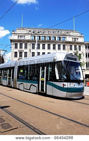 Nottingham City Tram.