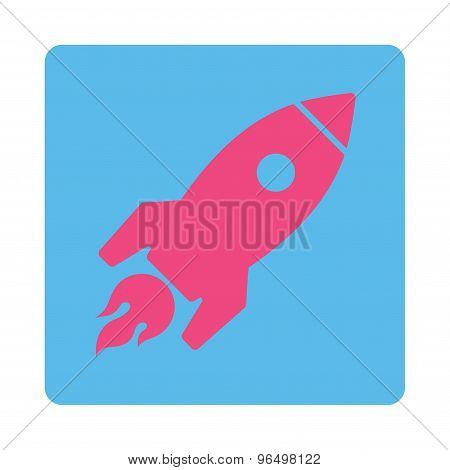 Rocket Launch Icon from Commerce Buttons OverColor Set