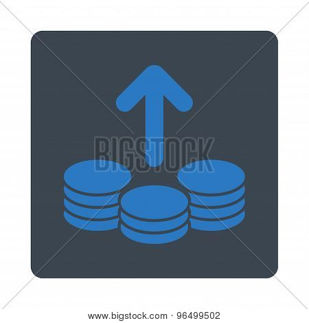 Payout Icon from Commerce Buttons OverColor Set