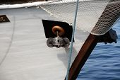 picture of anchor  - Old boat anchor - JPG