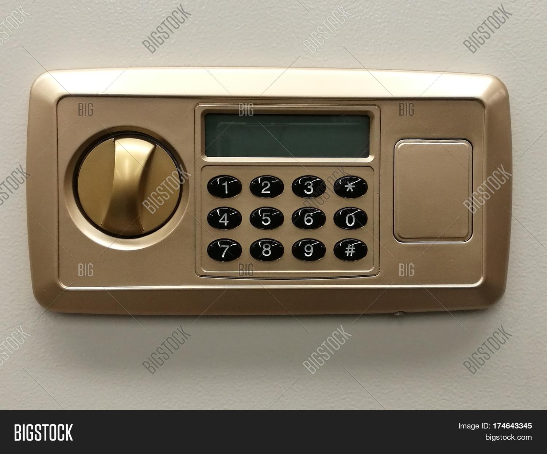 Safe lock code door on safety box bank safe close-up protection security lock banking & Safe Lock Code Door On Safety Box Image u0026 Photo | Bigstock Aboutintivar.Com