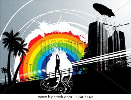 cidade do arco-íris