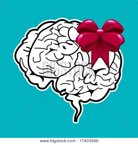 abstract brain gift
