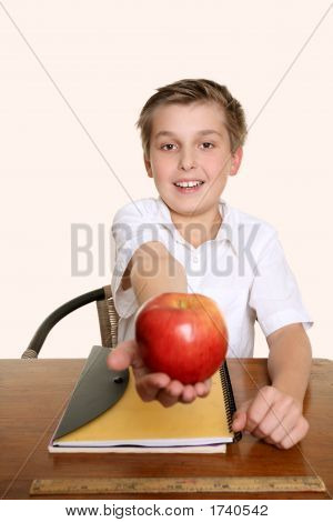 An Apple For My Favourite Teacher