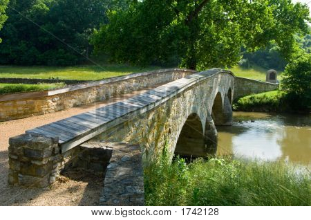 Burnside Bridge At Antietam