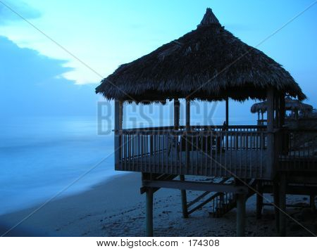 Florida Sunrise Beach Hut