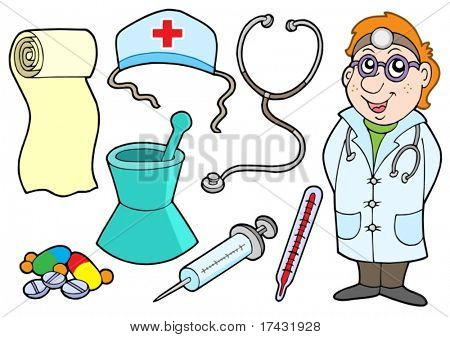Medical collection - vector illustration.