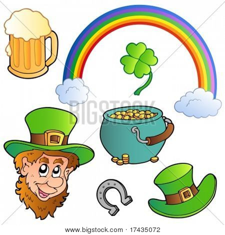 St Patrick day collection 3 - vector illustration.