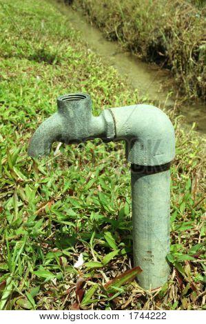 Broken Water Faucet