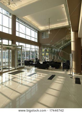 Lobby in einem modernen Gebäude