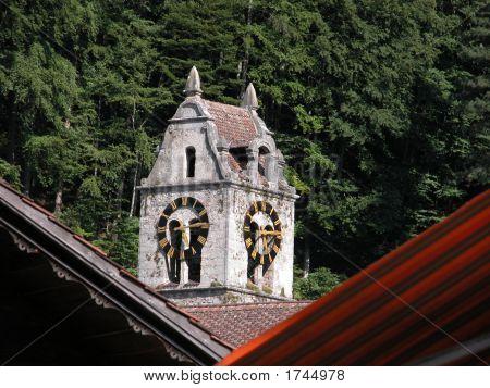 Wilderswil Church Steeple