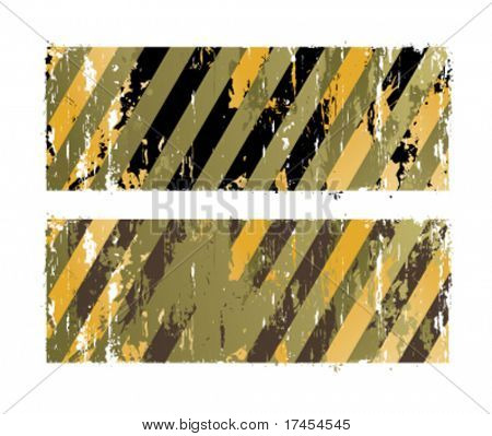 Vector militarians striped backgrounds