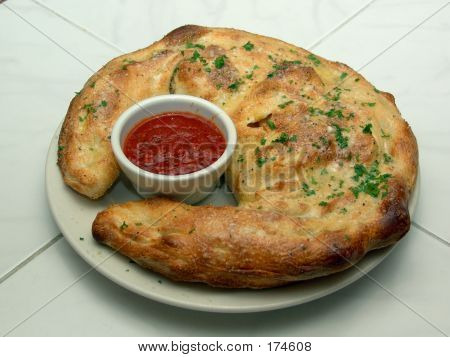 Calzone With Tomato Sauce