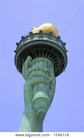 Statue Of Liberty'S Torch
