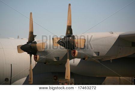 Military Aircraft Cargo Plane Engine Blades
