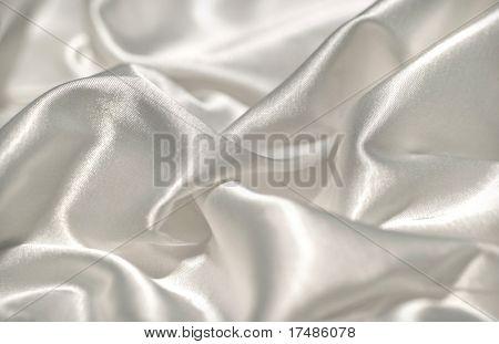 White satin textile