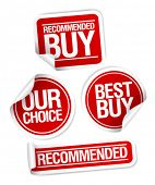 image of recommendation  - Recommended buy - JPG