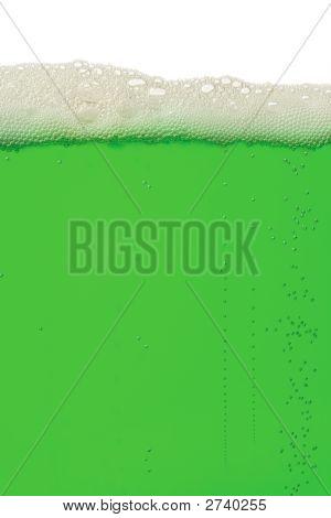 Grüne Bier-Hintergrund