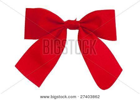 Red Elegant Necktie - A Butterfly