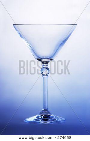 Empty Martini Glass