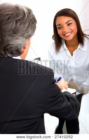 Job Interview In Office
