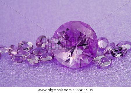 Elegant Jewelry Amethyst