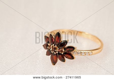 Elegant Jewelry  Garnet