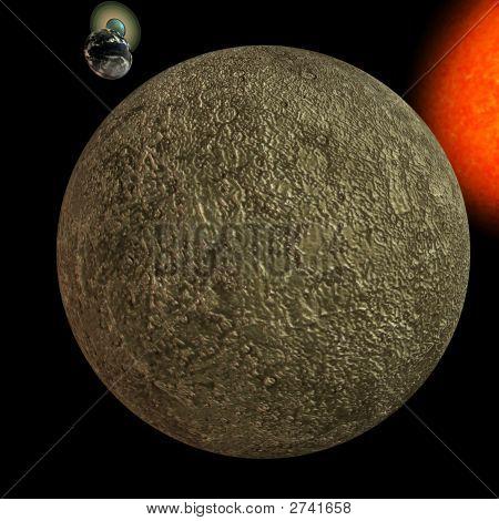 Solar System - Mercury