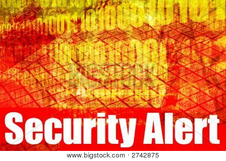 Security Alert Warning Message
