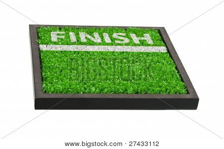 Finish Line On The Field