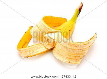 Biting A Banana