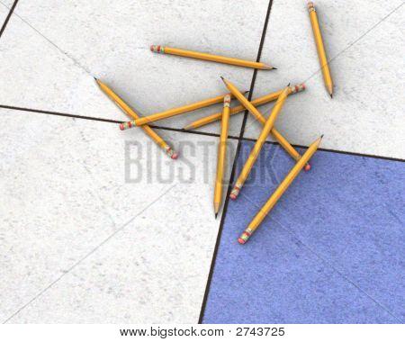 Pencil Scene