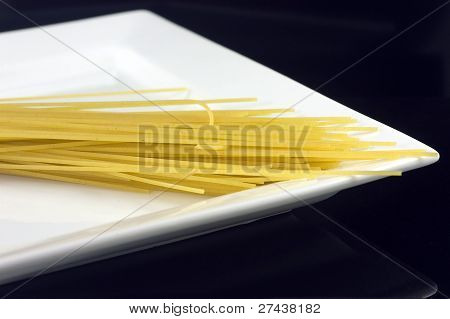 Pasta And Plate