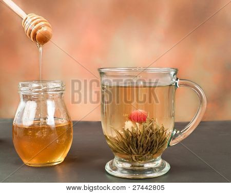 Flower Green Tea