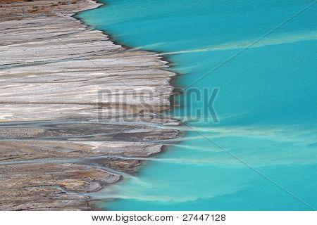 Streams Feed Peyto Lake