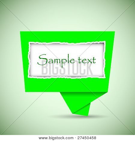 Vector Buuble Speech With Place For Your Text. Best Choice