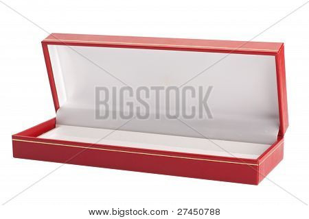 Opened Red Box