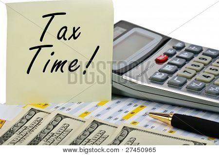 Tiempo de impuestos!