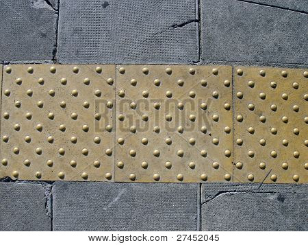 Pavement For Blind People