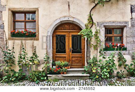 Old House, Rothenburg, Germany