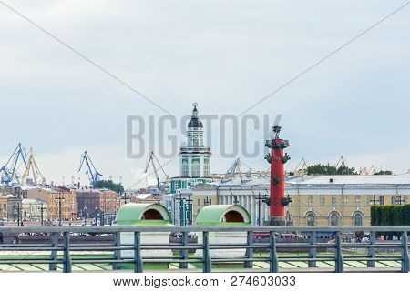 View Of St Petersburg From